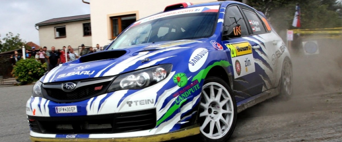 Andreas Aigner s Ilkou Minor na Barum Rally 2012